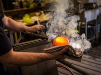 Glassblowing process photo by jurra89 - DepositPhotos.com