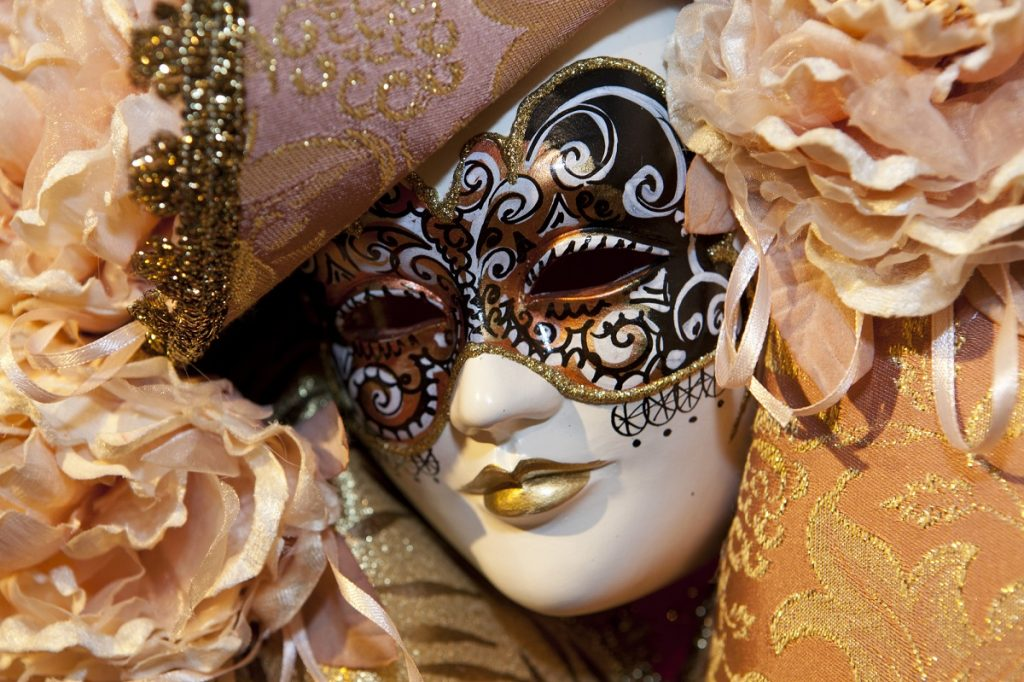 Carnival mask photo by sabinoparente - DepositPhotos.com