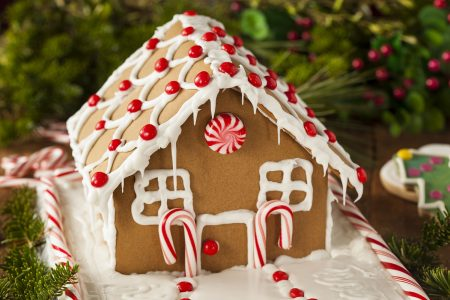 Homemade Gingerbread House - DepositPhotos.com