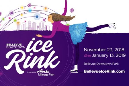 Bellevue Downtown Holiday Ice Rink banner