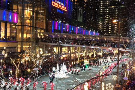 Christmas Snowflake Lane in Belleuve