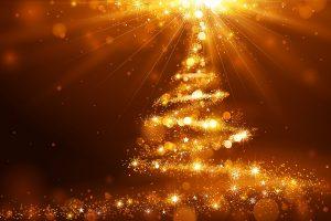 Depositphotos_33231867_l-2015 Golden Christmas tree lights vector by -Baks-