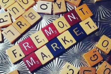 Fremont Market scrabble