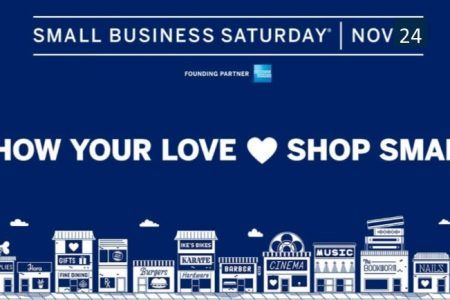 Shop Small Business Saturday banner