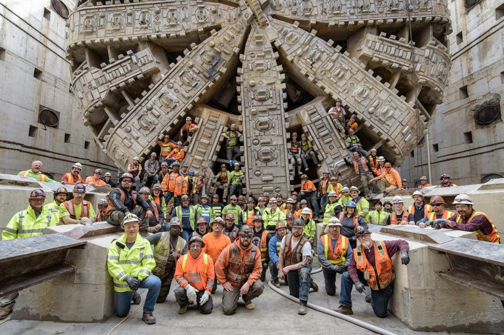 WSDOT SR 99 tunnel Big Bertha building team (CC2)