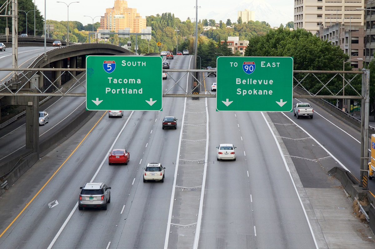 seattle freeway signs