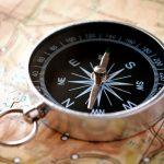 Map and compass for outdoor adventure - DepoistPhotos.com