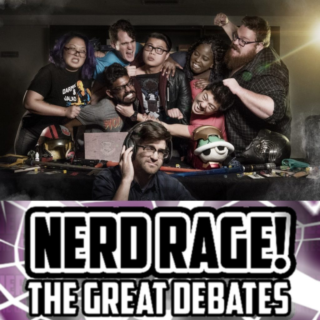 Komedio Comedy Nerd Rage