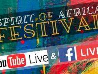 Spirit of Africa virtual festival 2020 banner