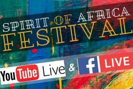 Spirit of Africa virtual festival 2020 banner