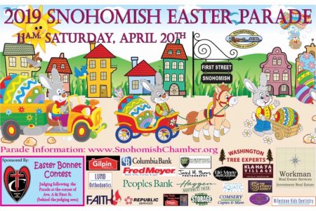 2019 Snohomish Easter Parade Poster