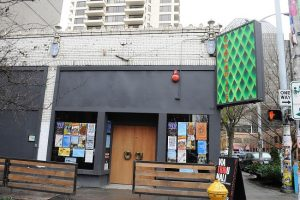 The Crocodile Cafe, Belltown, Seattle 2009 photo by Joe Mabel (CC3)