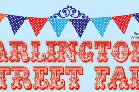 Arlington Street Fair banner