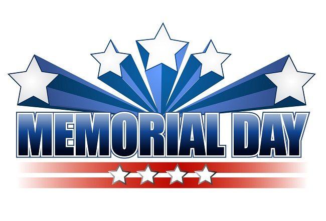 Memorial Day Weekend banner