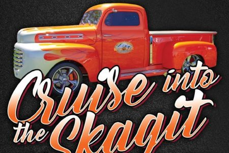 Cruise into the Skagit car show banner
