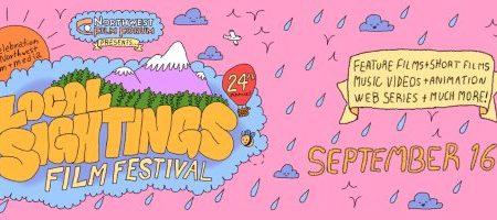 Banner for Local Sightings film festival 2021
