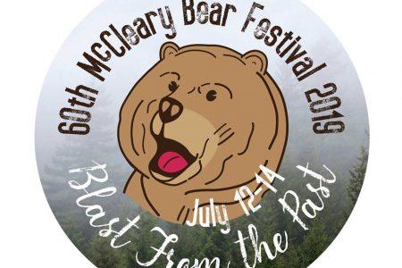 McCleary Bear Festival 2019 pin