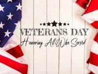 Veterans Day banner