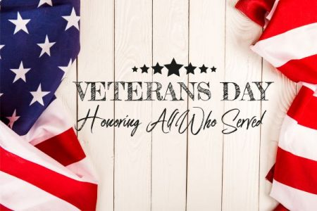 Veterans Day banner