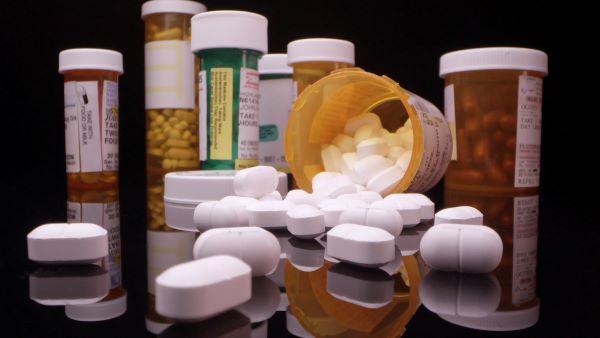 prescription medications pill bottles