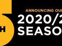 5th Avenue Theater 2020 season announcement banner