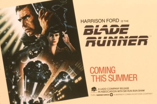Blade Runner 1982 movie posterBlade Runner 1982 movie poster