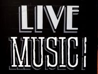 live music banner