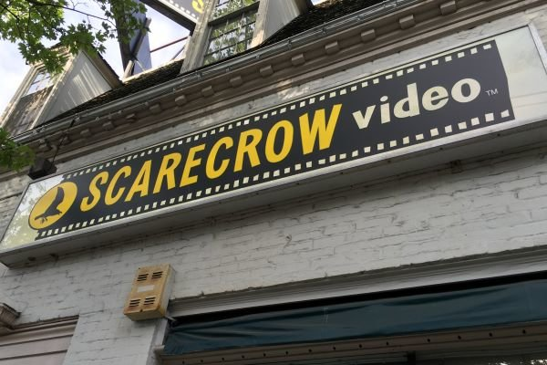 Scarecrow Video storefront, Seattle, WA