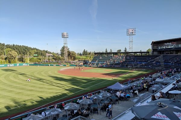 Cheney Field - Tacoma Rainier Stadium 2019 photo by Mds08011 (CC4)