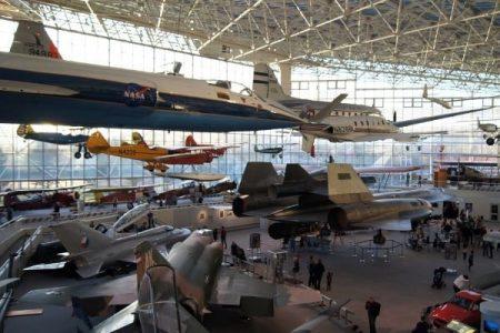 Musuem of Flight aircraft gallery