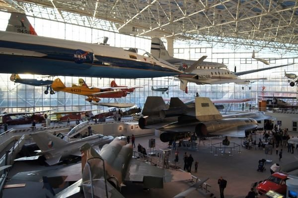 Musuem of Flight aircraft gallery