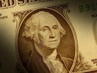 George Washington portrait on the U.S. dollar bill
