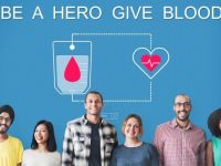 banner: be a hero donate blood