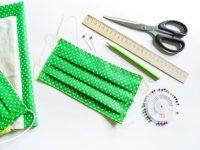 Sewing DIY cloth face mask