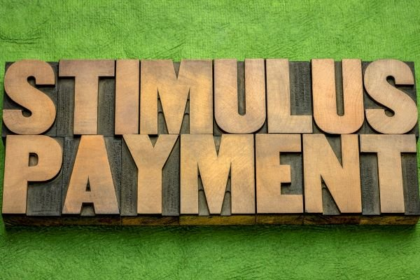stimulus payment banner