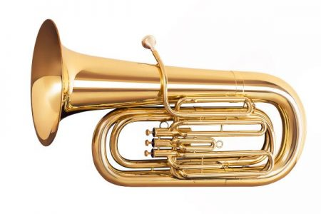 tuba brass horn musical instrument