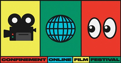CoFF - Confinement (online) Film Festival banner