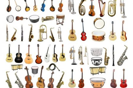 musical instruments chart