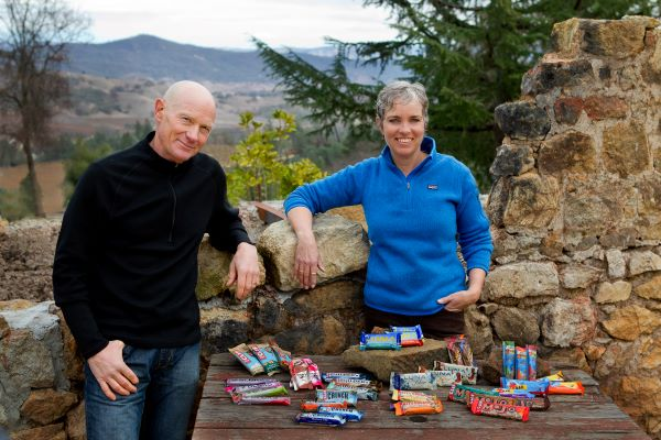 Gary Erickson and Kit Crawford, co-owners of Clif Bar and Company