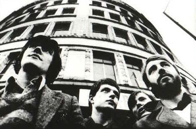 Joy Division band, circa 1979. Promotional image (fair use)