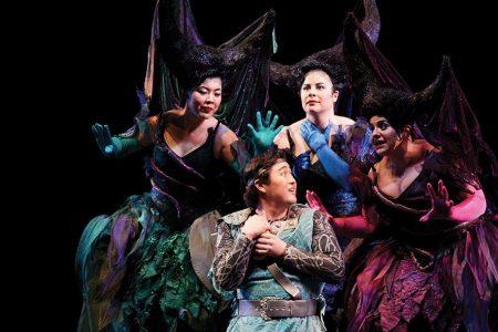 Seattle Opera Magic Flute costumes