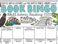 Seattle Public library 2020 book bingo banner