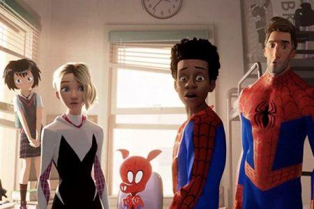 Spider-Man Into the Spider-Verse movie still shot
