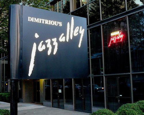 Dimitriou's Jazz Alley exterior