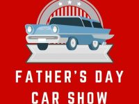 Banner for Discover Burien Father's Day Car Show