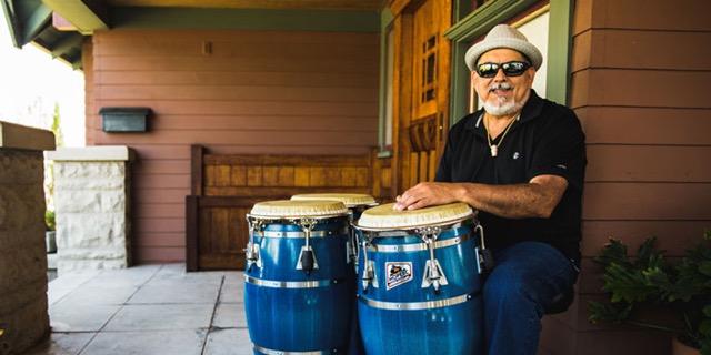 Poncho Sanchez Latin Jazz musician