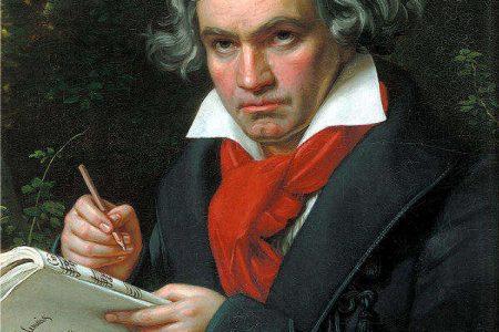 Portrait of Beethoven by Joseph Karl Stieler, 1820 (public domain)