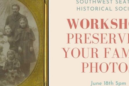 Southwest Historical society preserving photos workshop banner