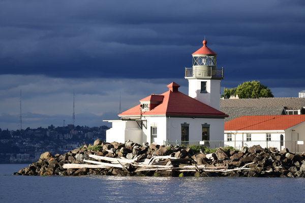Seattle's Alki Point Lighthouse