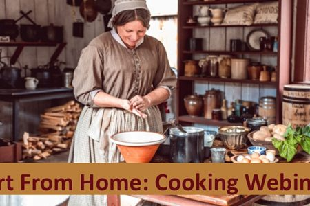 Fort Nisqually live webinar Victorian cooking